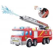 Caminhão de Bombeiro Infantil com Som e Luz - BBR 3064