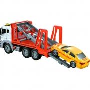 Caminhão Guincho de Fricção com Luz e Som 1:12 - Shiny Toys