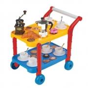 Carrinho Cafeteira Gourmet - Fenix Brinquedos 565C
