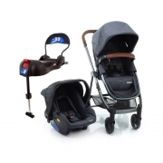 Carrinho de bebê com bebê conforto e base IsoFix - Dorel