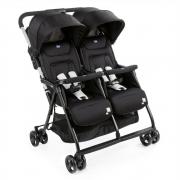 Carrinho de Bebê Para Gêmeos OhLalá Twin Black Night - Chicco