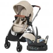 Carrinho de Bebê Travel System Anna Trio Nomad Sand - Maxi-Cosi