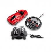 Carrinho De Controle Remoto Racing Control Speed X -Vermelho - BR1142
