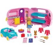 Carro com Trailer da Chelsea Boneca Barbie Chelsea Club - Mattel
