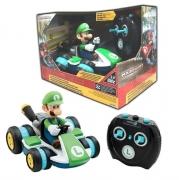 Carro de Controle Remoto Super Mario Luigi Racer - Candide