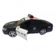 Carro De Polícia Com Som E Luzes - Bbr Toys