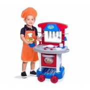 Conjunto De Cozinha - Play Time - Azul- Cotiplás