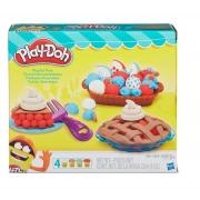 Conjunto de Massinha Play Doh Tortas Divertidas Hasbro 3398
