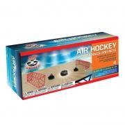 Conjunto de Mesa Air Hockey Flutuante com pás e redes - Maccabi