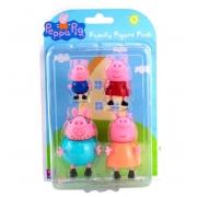 Conjunto de Mini Bonecos Família Peppa Pig - Sunny