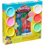Conjunto Massinha Play-Doh Formas Variadas - Hasbro E8534