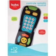 Controle Remoto Musical Preto - Buba Baby