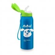 Copo Térmico com Canudo Keep it Cool  Azul - Multikids 1105