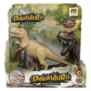 Dinossauro com luz e som - Dm Toys