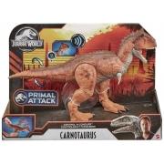 Dinossauro Jurassic Controle de Ataque Carnotaurus - Mattel