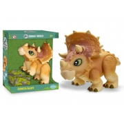 Dinossauro Triceratops - Dinos Baby - Jurassic World- Pupee