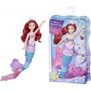 Disney Princess Ariel Arco-Íris - Boneca que muda de cor, inspirado no filme A Pequena Sereia da Disney - Hasbro 0399