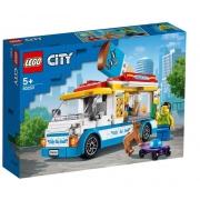 Diversão garantida com o LEGO City - Van de Sorvetes - 60253