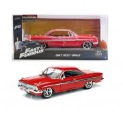 Dom's Chevy Impala 1961 - Velozes E Furiosos - 1/24 - Jada