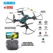 Drone Quadricóptero Techspy com Câmera - Polibrinq DN10000