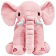 Elefantinho Rosa Grande 30 Cm Pelúcia 10744 Buba