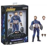 Figura Capitão América Marvel Legends Infinity 2 - Hasbro