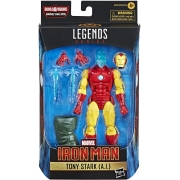 Figura Marvel Legends Homem de Ferro - Tony Stark - Hasbro