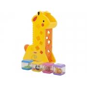 Girafa Divertida Com Blocos Fisher Price - Mattel