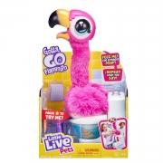 Gotta Go Flamingo Brinquedo Interativo Little Live Pets - FUN 00266