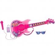 Guitarra Barbie Dreamtopia Com Funçao Mp3 Fun F00575