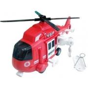 Helicoptero de resgate com luz e som 1:16 - Shinny Toys