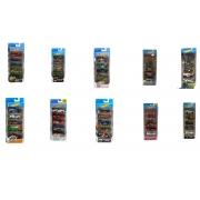 Hot Wheels Kit 5 Carrinhos Básicos Sortidos - MAT1806