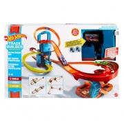 Hot Wheels Pista Motorizada Track Builder Super Impulso - Mattel