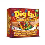 Jogo de Estratégia Dig In Super Divertido - Copag