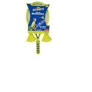 Jogo De Raquetes Com 2 Petecas - Dm Toys