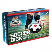 Jogo Disco de Bola Flutuante do Air Soccer com 2 redes de trave - Maccabi