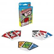 Jogo Hasbro Gaming Monopoly Bid Leilão - Jogo de Cartas - Hasbro 1699