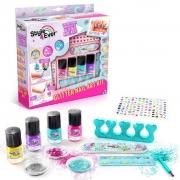 Kit Artes Decoração De Unhas Com Glitter - Fun F00653