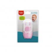 Kit Cuidados Bebê com Estojo Rosa 9802 - Buba
