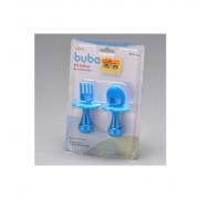 Kit De Talher Com Escudo Azul - Buba