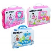Kit Maleta 3 em 1 - Fenix Brinquedos