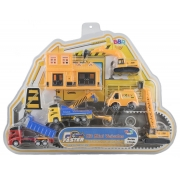 Kit Mini Veículos: Brinquedo infantil construção civil
