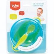 Kit Refeição com Colher Azul - Buba