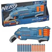 Lançador de Dardos Nerf Elite 2.0 Warden DB-8 - 16 Dardos - Hasbro E9960
