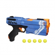 Lançador De Dardos Nerf Rival Kronos Azul - + 14 - Hasbro 3109