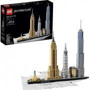 Lego Architecture Cidade De Nova Iorque 598 Peças - 21028