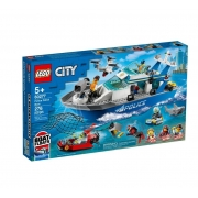 LEGO City Barco da Patrulha da Polícia 276 Peças 60277