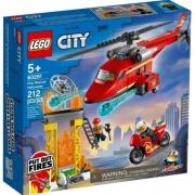 LEGO City - Helicóptero Resgate dos Bombeiros 212 pçs 60281