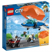 Lego City Policia Aérea - Detenção de Paraquedas 60208