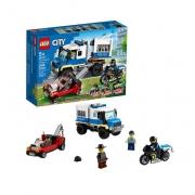 Lego City Transporte De Prisioneiros Da Polícia - 60276